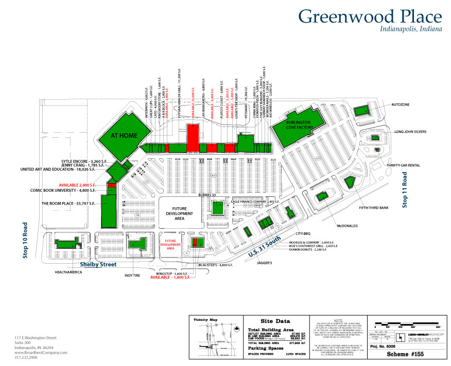 Greenwood Place Site Plan